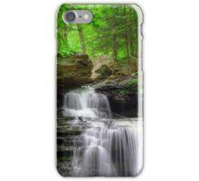 Emerald Trees Surround R. B. Ricketts Falls iPhone Case/Skin