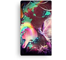 hummingbird rainforest fantasy  Canvas Print