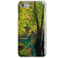 Fluorescence streams through Great Meadows iPhone Case/Skin