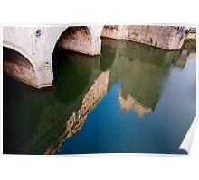 Pulteney Bridge Reflection Poster