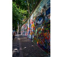 John Lennon's wall Photographic Print