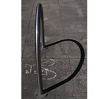 I heart Bicycles. Photographic Print
