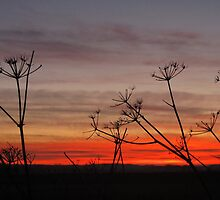 Fire Sky - Brancaster, Norfolk by PhotoMonkeyUK