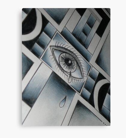 Cross-Eyed Canvas Print