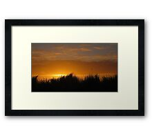 Red Dune - Brancaster, Norfolk Framed Print