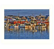 Lobster Boats in Perkins Cove Art Print