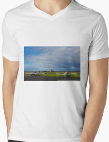 Why are they inactive?. Tooradin airport. Australia. Mens V-Neck T-Shirt