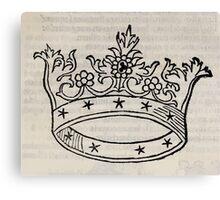 Hic Codex Auienii Continent Epigrama Astronomy Rufius Festivus Avenius 1488 Astronomy Illustrations 0133 Constellations Canvas Print