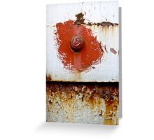Rust Bloom Greeting Card