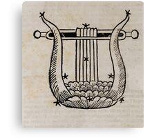 Hic Codex Auienii Continent Epigrama Astronomy Rufius Festivus Avenius 1488 Astronomy Illustrations 0162 Constellations Canvas Print