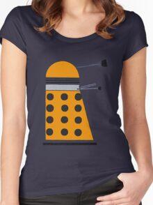 Scientist Dalek Women's Fitted Scoop T-Shirt