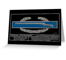Combat Infantry Badge Technical Greeting Card