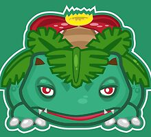 Venusaur by Eat Sleep Poke Repeat
