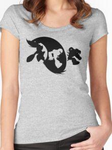 Zero vs Vile Women's Fitted Scoop T-Shirt