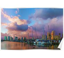 Tropical Sky - Impressions of Hawaii Poster