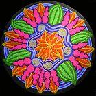 Van Gogh Inspired Sand Mandala by Tanya Newman