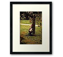 Walkman Dwarf Framed Print