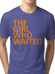 The Girl Who Waited  Tri-blend T-Shirt