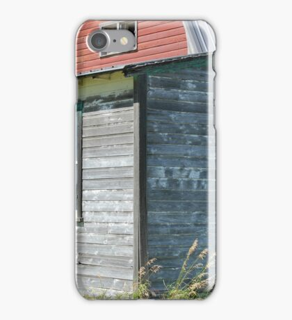 Old Weathered House and Barn iPhone Case/Skin