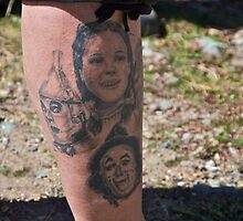 Wizard of Oz tattoo by Ann Reece