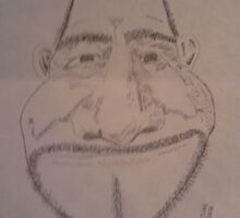 Sketch of Mark by Dennis Mouser