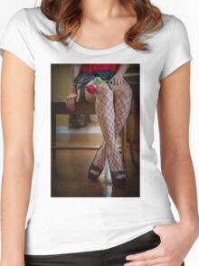 Lessons In Love Women's Fitted Scoop T-Shirt