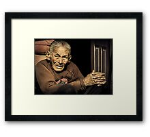 Lady in Bhaktapur #0301 Framed Print