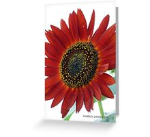 sunflowers Grow in Mo's Garden 1 Greeting Card