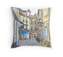 Rose Crescent, Cambridge Throw Pillow