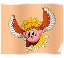 Ho-Oh Kirby Poster