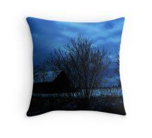 """""""Cool Blue"""" Throw Pillow"""