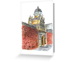 The Gate of Honour, Caius College, Cambridge Greeting Card