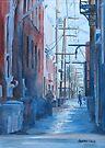 Alley Shortcut by JennyArmitage
