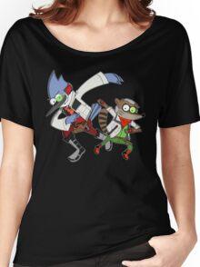 Star Fox x Regular Show Hoodie Women's Relaxed Fit T-Shirt