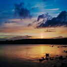 Lerwick Sunset, Shetland Islands by Susan P Watkins