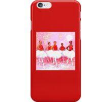 Les Danseurs Noirs iPhone Case/Skin