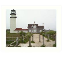 Highland Lighthouse Art Print