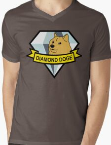 Diamond Doge Mens V-Neck T-Shirt