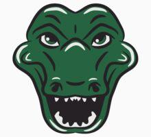 Crocodile funny goofy sweet by Style-O-Mat