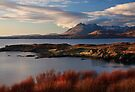 Cuillin Mountains from Tarskavaig, Isle of Skye, Scotland. by PhotosEcosse