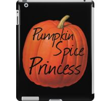 Pumpkin Spice Princess iPad Case/Skin