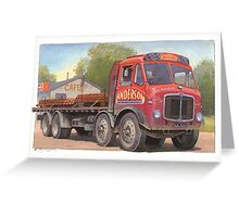 AEC Mammoth Major Tinfront Greeting Card