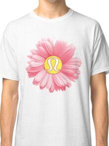 Pink Daisy Lulu Logo Classic T-Shirt