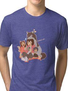 Wolf Family Tri-blend T-Shirt