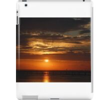 A Birthday Sunset on Mobile Bay.... iPad Case/Skin