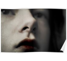Blood Stained Lips Poster