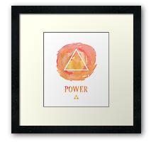 Use Power Framed Print