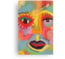 Woman of Color Canvas Print