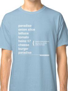 Jimmy Buffett - The Helvetica Music Project Classic T-Shirt