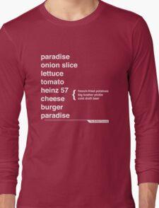 Jimmy Buffett - The Helvetica Music Project Long Sleeve T-Shirt